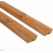 Elewacja drewniana Thermory rombus pac system